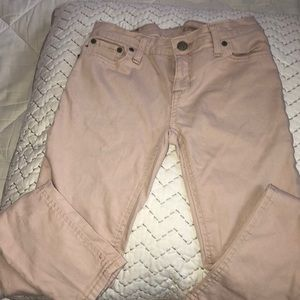 Tan/pink Polo jemma super skinny jeans